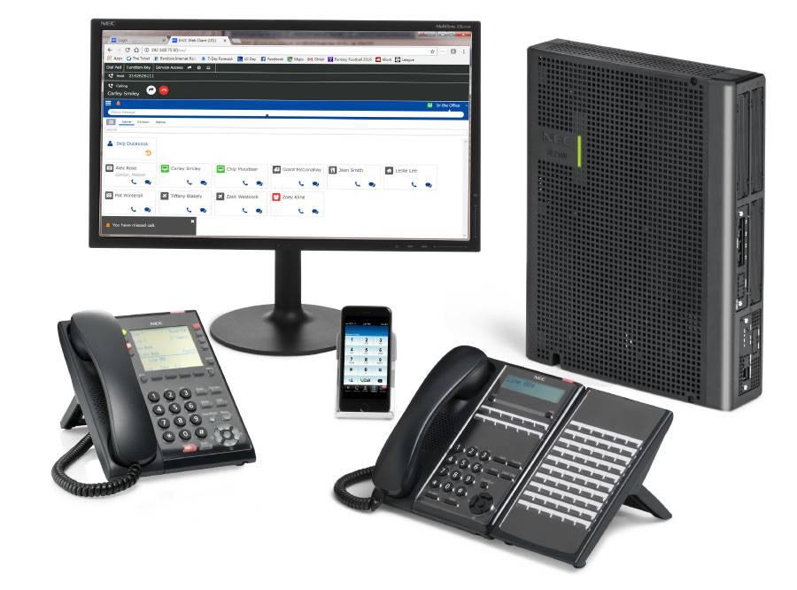 NEC Smart Communications System SL2100